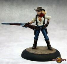 Reaper Miniatures 50282: Janey Blankenship, Cowgirl - Chronoscope Metal Mini