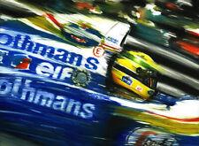 Ayrton Senna Williams Renault FW16 1994 Imola F1 Car Art Print Kunstdruck Poster