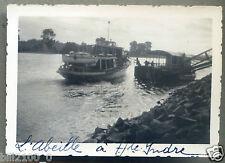 44 Loire-Atlantique . Indre . Haute-Indre . PHOTO ANCIENNE . 1936 . L'Abeille
