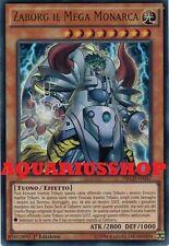 Yu-Gi-Oh Zaborg il Mega Monarca NECH-IT037 UltraRara ITA the Mega Monarch  Nuovo