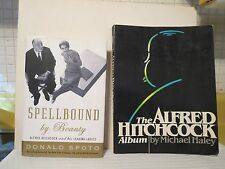 Alfred Hitchcock (TWO books) Spellbound By Beauty and The Alfred Hitchcock Album