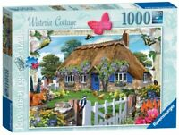 Ravensburger Jigsaw Puzzle WISTERIA COTTAGE - Country Village 1000 Piece