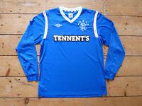 Glasgow Rangers Football Shirt (small) L/S Rangers FC occer Jersey 2011/12