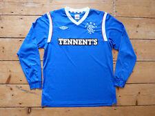Glasgow Rangers Maglietta Da Calcio (piccole) L/S Rangers FC Occer JERSEY 2011/12