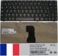 Clavier Azerty Français LENOVO G640 N2L-FR NSK-B30SN 9Z.N5JSN.00F 25-011390 Noir