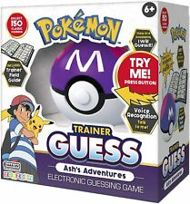 Pokemon Trainer Guess: Ash's Adventures Edition Game - Brand New