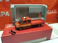herpa  VW Crafter Pritsche-/ Doppelkabine Feuerwehr 112 -     047661