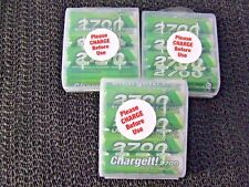 lot 12   Chargeit  AA batteries 2700 Series rechargeable 2700mAh 1.25V NiMH  NEW