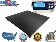 """New Industrial Platform 40"""" x 40"""" Floor scale pallet size with 2000 lbs x .5 lb"""