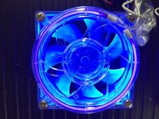 MAD DOG 80mm Crystal Clear (BLUE) 80mm x 25mm ColorFan by Techie Toyz