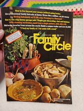 FAMILY CIRCLE MAGAZINE------MARCH 1973