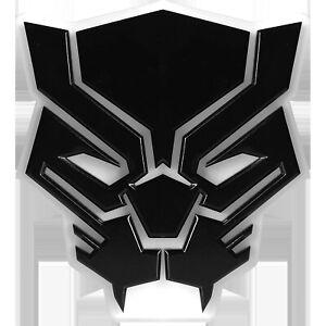 Marvel Black Panther 3D Desk Lamp Shelf LED Man Cave Dorm Room Night Light Sign