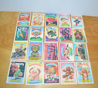 Vintage GARBAGE PAIL KIDS TRADING CARDS Lot 1986 1987 1988 GPK Stickers Topps 18