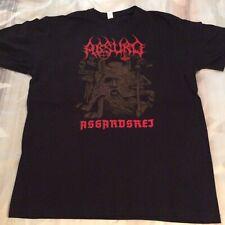 ABSURD Ashardsrej Shirt XL, Azarath, The Chasm, Urgehal, Urfaust,Inquisition