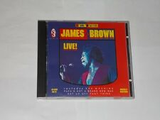 Funk Masters James Brown Live Castin Park Atlanta Georgia 1980 CD Album. 1989.