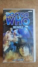 Doctor Who - Underworld (VHS, 2002) - NEW and SEALED - Tom Baker
