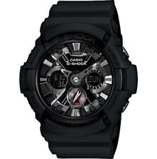 Casio G-Shock Analogue/Digital Mens Black Watch GA201-1A GA-201-1ADR