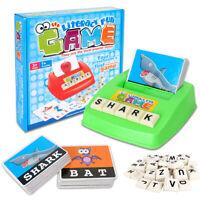 Kids English Spelling Alphabet Toy Letter Game Educational Promote Intelligence