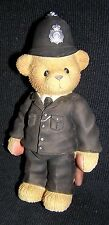 Cherished Teddies - Bobby - Uk Exclusive Policeman New Never Displayed Rare!