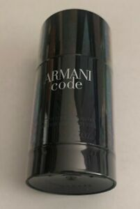 Armani Code Deodorant Stick 2.6 Ounces For Men (Sealed)