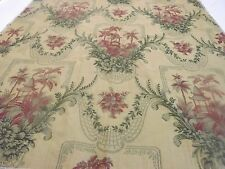 """Vervain """" Bayan Meadow"""" Designer Fabric Remnant Crafting Quilting Pillows"""