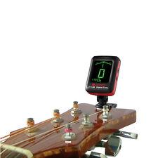 JOYO JT-12B Digital LCD Mini Clip-on Guitar Tuner For Bass Violin Ukulele