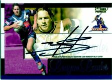 2005 SELECT NRL LEAGUE LEADER SIGNATURE REDEMPTION: BILLY SLATER #72/110