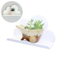 lemo handmade Wooden white cloud shelf Children living room garden decoration