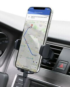Car Phone Mount Adjustable Air Vent Phone Holder with instant release button