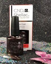 CND Shellac LED/UV Gel Polish - Cuppa Joe 0.25oz / 7.3mL