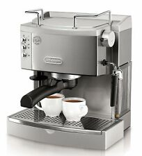 Espresso cappuccino Coffee Maker Brewing Machine 15-Bar-Pump DeLonghi Stainless
