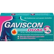 GAVISCON Dual 250mg/106,5mg/187,5mg Kautabletten 16 St PZN 4363716