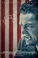 J Edgar Leonardo Di Caprio Original Zweiseitig Film Filmposter (B) 69x102cm
