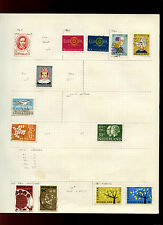Netherlands Album Page Of Stamps #V5001