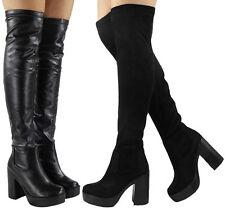 Zip Party Over Knee Boots for Women