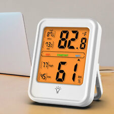 LCD Digital Hygrometer Humidity Indoor Outdoor Thermometer Temperature Monitor
