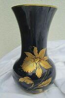 alte porzellan vase v jaeger&co echt kobalt echt gold osterglocke