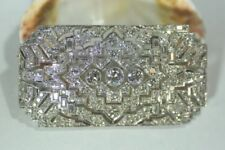 Echtschmuck-Broschen & -Anstecknadeln Diamant-Hauptstein und SI Reinheit für Damen