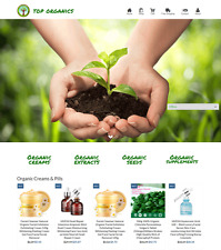 Dropshipping Organics eCommerce Website Business Ready to Go with HUGE Potential