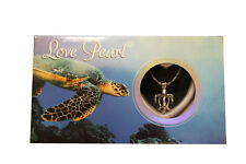 Love Wish Cultured Pearl Sea Turtle Necklace Gift Set - Harvest Your Own Pearl