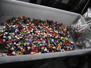 1.3 KG LEGO Mixed Mega Bundle  Minifigures Spare Parts Joblot SEE THE PICTURES
