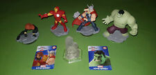 Hulk Thor Iron Man Black Widow Avengers Disney Infinity 2.0 Figures & Play Piece
