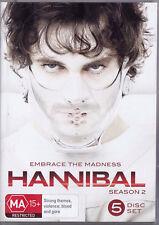 HANNIBAL Season 2 DVD R4 - PAL - New