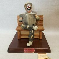 Emmett Kelly Jr Big Business Flambro Authentic Box Vintage Signature Collection