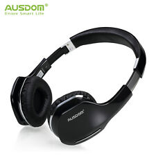 Wireless Bluetooth 4.0 Foldable Stereo Headsets Headphones With Mic AUSDOM M07