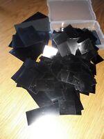 100 Hawid Pockets black backing, mixed sizes.