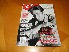 GQ Jan 1997 David Duchovny Cover + Article X-Files Ashley Judd Netscape Founder