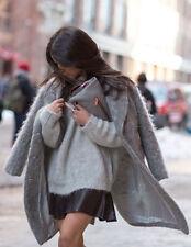 Zara Faux Fur No Pattern Coats & Jackets for Women
