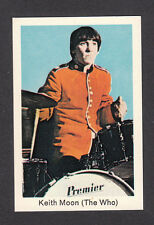 The Who Keith Moon Drummer Percussion 1960s/1970s Pop Music Card from Sweden