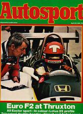 Autosport 23 Apr 1981 - Thruxton F2 F3 BSCC, Safari Rally Datsun, Mugello 1000 K